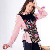 "Одежда handmade. Livemaster - original item waistcoat ""LOTOS"". Handmade."