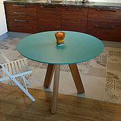 Для дома и интерьера ручной работы. Ярмарка Мастеров - ручная работа Стол обеденный круглый. Handmade.