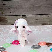 Куклы и игрушки ручной работы. Ярмарка Мастеров - ручная работа Тедди слоник Зефирка. Handmade.