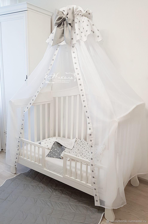 Картинка балдахин на детскую кроватку