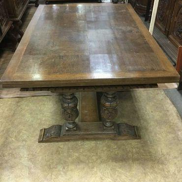 Винтаж ручной работы. Ярмарка Мастеров - ручная работа Обеденный стол из массива дуба. Handmade.
