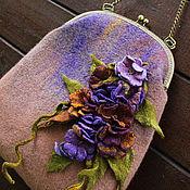 Сумки и аксессуары handmade. Livemaster - original item Bag felted Summer Dating. Handmade.