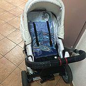 Работы для детей, ручной работы. Ярмарка Мастеров - ручная работа Матрасик для коляски Hartan Vip. Handmade.