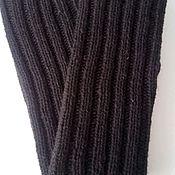 Аксессуары handmade. Livemaster - original item Mittens male 03, black SK2. Handmade.