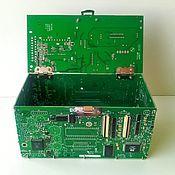 Для дома и интерьера ручной работы. Ярмарка Мастеров - ручная работа Cyber Box - шкатулка из микросхем.. Handmade.