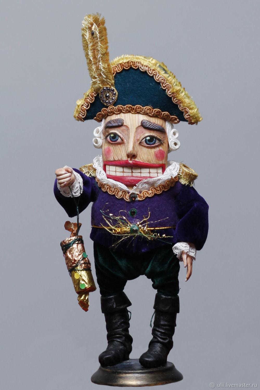 """Сказочные персонажи ручной работы. Ярмарка Мастеров - ручная работа. Купить Кукла """"Щелкунчик"""". Handmade. Игрушка, новогодний подарок, щелкун"""