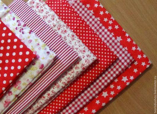 Шитье ручной работы. Ярмарка Мастеров - ручная работа. Купить Набор тканей из хлопка (1). Handmade. Ткань, отрез из хлопка