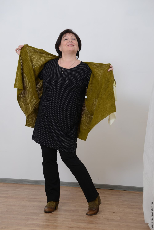 An extra long basic tunic. Art. 674, Tunics, Kirov,  Фото №1
