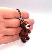 Куклы и игрушки ручной работы. Ярмарка Мастеров - ручная работа Миниатюрный мишка (4 см). Handmade.