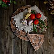 """Для дома и интерьера ручной работы. Ярмарка Мастеров - ручная работа """"Caprese"""" Сервировочная доска /массив бука/. Handmade."""