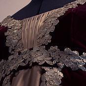 Одежда ручной работы. Ярмарка Мастеров - ручная работа Ампир платье бархатное. Handmade.