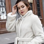 Одежда handmade. Livemaster - original item The under coat of pearl grey mink. Handmade.