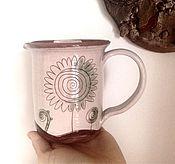 Посуда ручной работы. Ярмарка Мастеров - ручная работа Бронь 1 штука. Кружка для травяного чая 2.. Handmade.