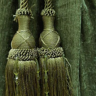 Для дома и интерьера ручной работы. Ярмарка Мастеров - ручная работа Кисти-подхваты для штор Турция. Handmade.