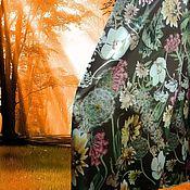 """Одежда ручной работы. Ярмарка Мастеров - ручная работа Длинная юбка из нежного атласа """"Полдень"""". Handmade."""
