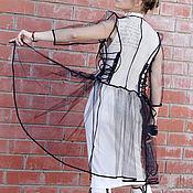 Одежда ручной работы. Ярмарка Мастеров - ручная работа Паутиновая фантазия. Handmade.