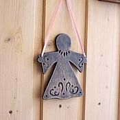 """Для дома и интерьера ручной работы. Ярмарка Мастеров - ручная работа подвеска"""" ангел"""". Handmade."""