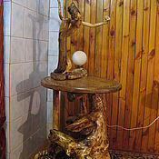 Для дома и интерьера handmade. Livemaster - original item Floor Lamp Sea Princess. Handmade.