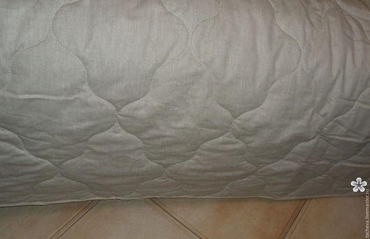 Текстиль, ковры ручной работы. Ярмарка Мастеров - ручная работа. Купить Одеяло-покрывало - льняные сны. Handmade. Серый, хлопок