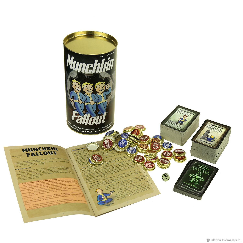 Манчкин Фоллаут / Munchkin Fallout, Карточные игры, Санкт-Петербург,  Фото №1