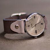 Украшения handmade. Livemaster - original item Retro quartz wrist watch Grey MART. Handmade.