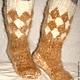 Носки мужские  пуховые толстые артикул №38м из собачьего пуха . Ручное прядение .Ручное вязание. Очень толстые носки .Полный эксклюзив. Усиленная стопа . Специальная форма под объемные икры. Очень