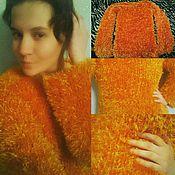 """Одежда ручной работы. Ярмарка Мастеров - ручная работа Пушистый свитер """" Из детства"""". Handmade."""
