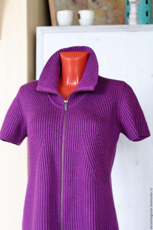 Одежда. Ярмарка Мастеров - ручная работа. Купить 20 Кардиган мериносовая шерсть Германия Bonita 48 50. Handmade.