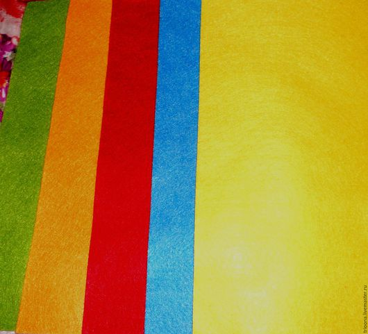 Валяние ручной работы. Ярмарка Мастеров - ручная работа. Купить Фетр декоративный  /111/. Handmade. Фетр, фетр для творчества