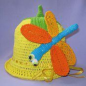 """Работы для детей, ручной работы. Ярмарка Мастеров - ручная работа Панамка """"Веселая стрекоза"""". Handmade."""