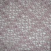 Аксессуары handmade. Livemaster - original item Beige pink shawl. Handmade.