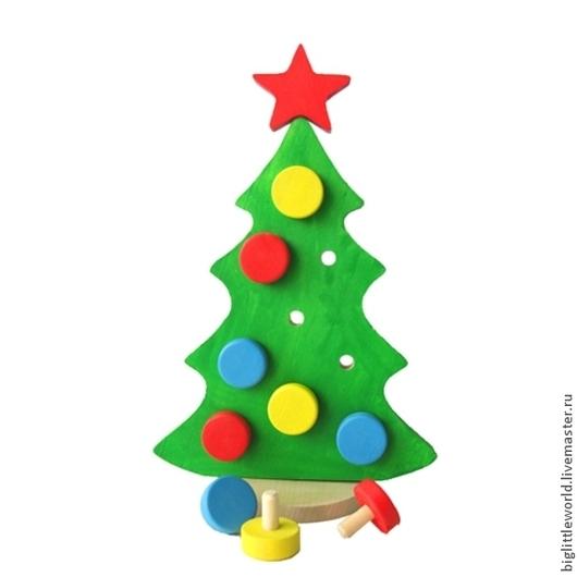 """Развивающие игрушки ручной работы. Ярмарка Мастеров - ручная работа. Купить Игра """"Кремлемская елка"""". Handmade. Ярко-зелёный"""