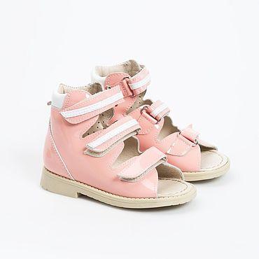 Обувь ручной работы. Ярмарка Мастеров - ручная работа Сандалии кожаные для девочки. Handmade.