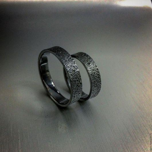 Кольца ручной работы. Заказать кольцо из серебра. Авторское кольцо. Необычное кольцо. BigJoe. Ярмарка Мастеров. Купить кольцо песок, серебро 925 пробы