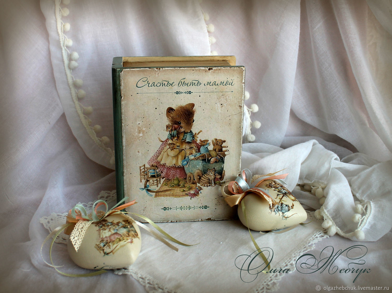 Christmas set ' Happiness to be a mother ', Gift Boxes, St. Petersburg,  Фото №1