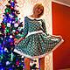 """Платья ручной работы. Платье из американского хлопка """"Очарование"""". Sherberry. Интернет-магазин Ярмарка Мастеров. Платье, платье купить, хлопок"""