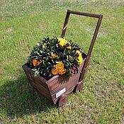 Цветы и флористика handmade. Livemaster - original item Garden plant pots Prams. Handmade.