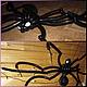 """Подарки на Хэллоуин ручной работы. """"Взгляд Хэллоуина"""" - паук, летучая мышь и люстра из воздушных шаров. 'Разкозявочка' Елена и Марина. Ярмарка Мастеров."""