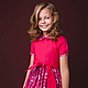 Одежда для девочек, ручной работы. Ярмарка Мастеров - ручная работа. Купить Пряничное платье. Handmade. Фуксия, детское платье