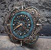 Для дома и интерьера ручной работы. Ярмарка Мастеров - ручная работа Часы ТехноАрт-5 (настенные). Handmade.