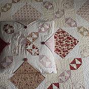 """Для дома и интерьера ручной работы. Ярмарка Мастеров - ручная работа Квилт и подушки """"Очень викторианское"""". Handmade."""