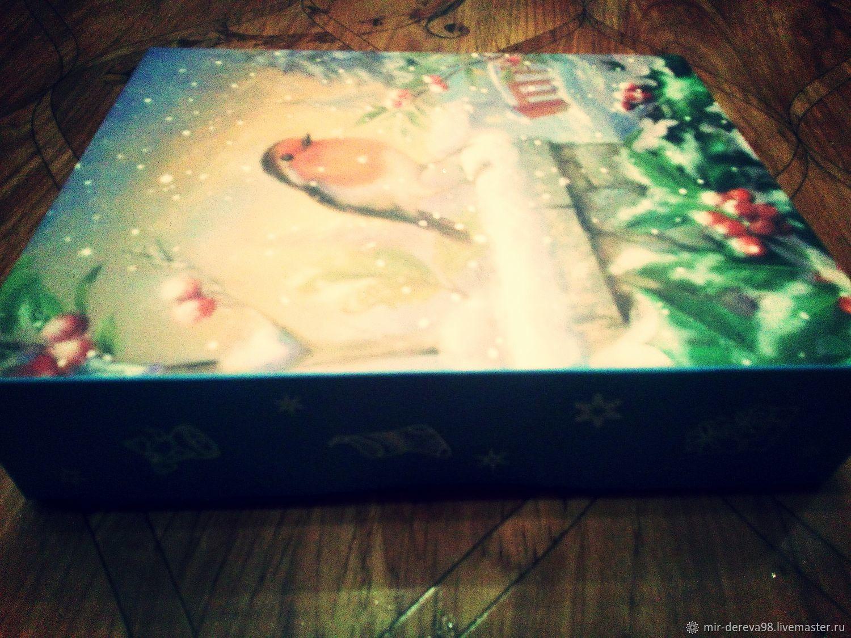 Подарочный набор на Рождество или Новый Год (7 игрушек), Елочные игрушки, Санкт-Петербург,  Фото №1