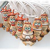 Куклы и игрушки ручной работы. Ярмарка Мастеров - ручная работа Курочки и петушки. Handmade.