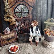 Мягкие игрушки ручной работы. Ярмарка Мастеров - ручная работа Гном из фильма Хоббит. Handmade.