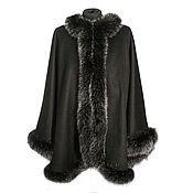 Одежда handmade. Livemaster - original item Cashmere Poncho (WS-01/205). Handmade.