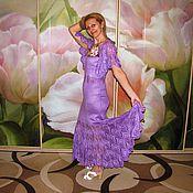 """Одежда ручной работы. Ярмарка Мастеров - ручная работа платье """" Перо павлина"""". Handmade."""