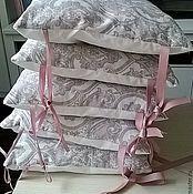 Для дома и интерьера ручной работы. Ярмарка Мастеров - ручная работа Бортики подушки. Handmade.