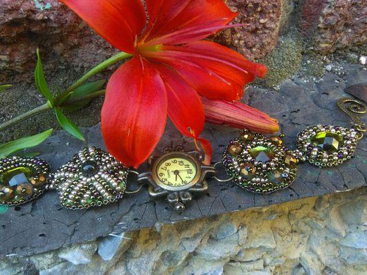 """Колье, бусы ручной работы. Ярмарка Мастеров - ручная работа. Купить Часы """"Белла"""" всего за 799!!!. Handmade."""