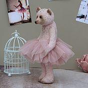 Мишки Тедди ручной работы. Ярмарка Мастеров - ручная работа Мишка тедди балерина. Handmade.