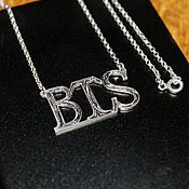 Pendants handmade. Livemaster - original item Pendant-pendant in silver BTS. Handmade.